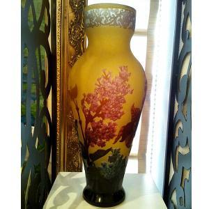 ルーマニアガラス工芸 花瓶 ルーマニアングラスアート 花の温もり ツードル・ニコライ作|livingts