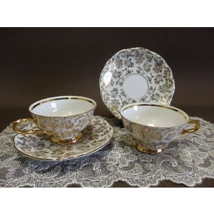 BAVARIA bareuther WALDSASSEN 金彩カップ&ソーサー 【中古】|livingts