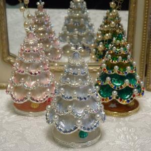 パールツリー ジュエリーケース クリスマスツリー プレゼント|livingts