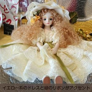 若月まり子人形 フィルクローシェシリーズ 「アンネット」|livingts|02