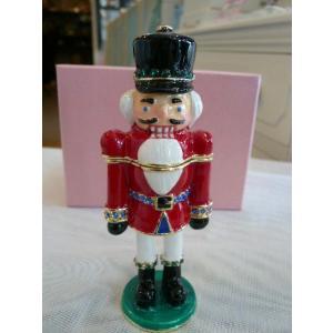 クリスマスジュエリーケース「くるみ割り人形」|livingts