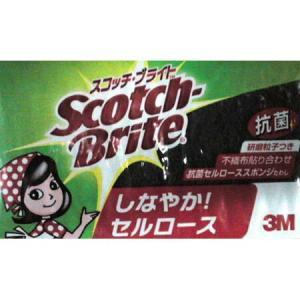 スコッチブライト 抗菌セルロース スポンジたわし スコッチブライト ( キッチン スポンジ Scotch Brite )|livingut