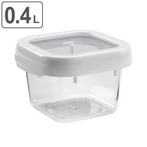 OXO オクソー ロックトップコンテナ 0.4L S スクエア ( 400ml 保存容器 食洗機対応 電子レンジ対応 )