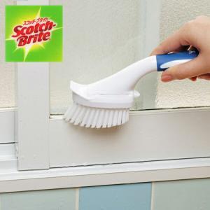 スコッチブライト ハンディブラシ 本体 S ( お風呂 浴槽 バス 掃除 清掃 水アカ カビ ヌメリ )|livingut