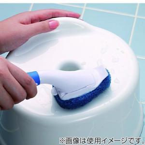 スコッチブライト ハンディブラシ 本体 S ( お風呂 浴槽 バス 掃除 清掃 水アカ カビ ヌメリ )|livingut|05