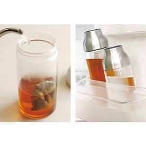 キントー KINTO 冷水筒 ピッチャー 耐熱 1L ガラス CAPSULE カプセル ウォーターカラフェ ステンレスリッド 水差し ( 食洗機対応 電子レンジ )|livingut|06