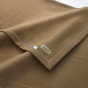 【15日限定クーポン配布】最高級キャメル毛布 シングル 140×200cm ベージュ ( ブランケッ...