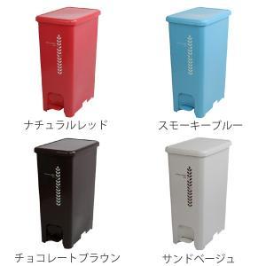 ゴミ箱 ふた付き ペダルペール 40L  ( ごみ箱 ダストボックス ダストBOX )|livingut|03