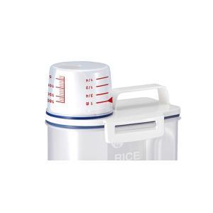 米びつ 密閉米びつ 2kg 計量カップ付き ( ライスボックス 米櫃 こめびつ )|livingut|04