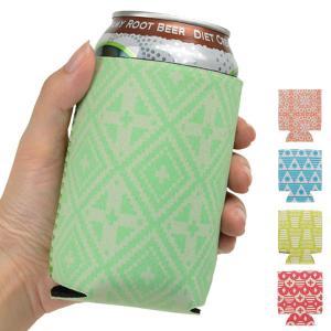 缶ホルダー コンビニ コーヒー カップ FiNE DAYS ファインデイズ パターン柄 350ml缶用 ( 缶クージー 缶 ホルダー 保冷 保温 缶クーラー )|livingut