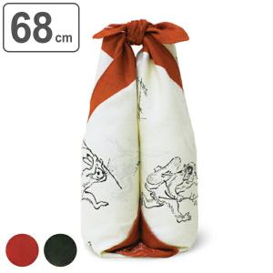 風呂敷 二巾 鳥獣人物戯画 68cm