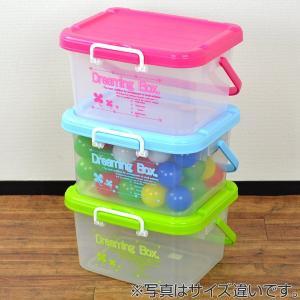 収納ケース ドリーミングボックス 幅45.8×奥行38.5×高さ25.5cm Lサイズ フタ付き 持ち手付き ( 収納ボックス おもちゃ箱 収納 プラスチック )|livingut|05
