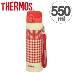 水筒 サーモス thermos 真空断熱ケータイマグ 直飲み 550ml JNT-550 レッドオレンジ ( 軽量 スリム ステンレスボトル マグボトル 魔法瓶 )