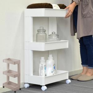 キッチン収納 スマートワゴン 4段 組立式 ( キッチン 収納 ストッカー )|livingut