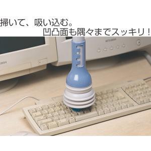 エアコンブラシクリーナー ( 掃除機用 ノズル ブラシ 簡易掃除機 掃除機用品 ホコリ ゴミ )|livingut|02