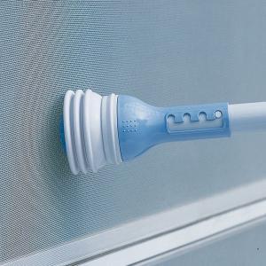 エアコンブラシクリーナー ( 掃除機用 ノズル ブラシ 簡易掃除機 掃除機用品 ホコリ ゴミ )|livingut|05