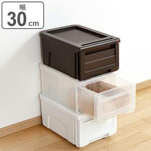 収納ケース カバゾコ 幅30×奥行40×高さ22cm プラスチック 引き出し(収納ボックス 収納 衣装ケース おもちゃ箱)|livingut