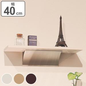 ウッドシェルフ 飾り棚 ディスプレイ棚 幅40cm ( ウォールラック 壁面ラック 棚 壁掛け 壁面 )|livingut