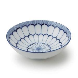ボウル 17cm 美濃焼 洋食器 大輪菊 ( 食器 陶器 皿 中鉢 お皿 )|livingut|04