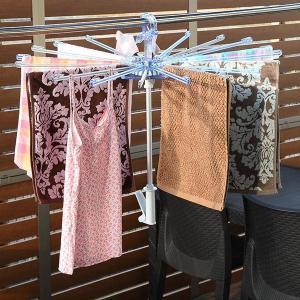 洗濯ハンガー ポーリッシュ PORISH 華麗なパラソルハンガー ( 洗濯 物干し ハンガー パラソル アルミ 華麗 折りたたみ 低竿 )|livingut
