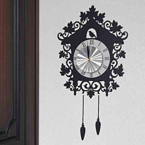 ウォールクロックステッカー ウォールステッカー 時計 ハウス Wall Clock Sticker