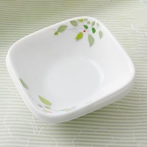 ボウル 23cm コレール CORELLE スクエア 白 食器 皿 角皿 グリーンブリーズ ( 食洗機対応 ホワイト 電子レンジ対応 お皿 オーブン対応 白い )|livingut|06
