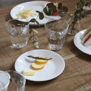 プレート 17cm コレール CORELLE 白 食器 皿 ウインターフロスト ( 食洗機対応 ホワイト 電子レンジ対応 お皿 オーブン対応 白い ) livingut 06
