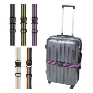 スーツケースをしっかりと固定してくれる強力ゴムベルトです。伸びのいい強力ゴムなので、調整いらずで簡単...