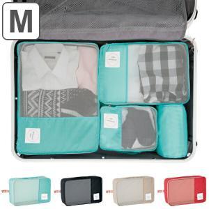 トラベルポーチ トラベルバッグ くるくる収納BOX ポーチ (M) ( 旅行ポーチ 旅行用バッグ インバッグ )|livingut