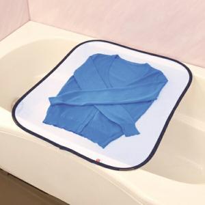 折りたたみ式 平干しネット 平干し ネット お風呂で平干しネット ( 物干しネット 洗濯用品 洗濯グッズ )|livingut