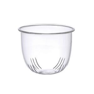 キントー KINTO ストレーナー 漉し器 SM兼用 UNITEA ユニティ ガラス ( パーツ 専用漉し器 ガラス製 S M 専用  )|livingut