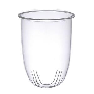 キントー KINTO ストレーナー 漉し器 L専用 UNITEA ユニティ ガラス ( パーツ 専用漉し器 ガラス製 L 専用  )|livingut