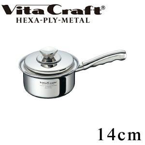 Vita Craft ビタクラフト 片手鍋 14cm 1.2L ヘキサプライメタル No.6143 ...