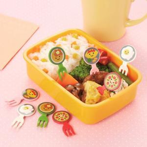ピック フォークピック フライパンDEクッキング 8本入り ( お弁当グッズ キャラ弁 子供用 ) livingut