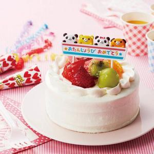 ケーキピック パンダ&アニマル お誕生日 ( バースデー 子ども お祝い ) livingut