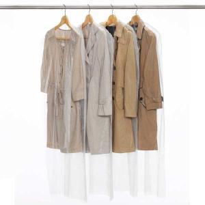 衣類カバー コートカバー 60×135cm ベーシック ロング 7枚入り 日本製 ( 洋服カバー 不織布 衣類収納袋 )|livingut|03