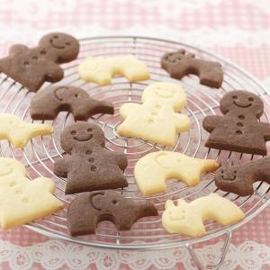 クッキー型 抜き型 ひと ゾウ ウサギ セット ( クッキー 型 抜型 クッキー抜型 一度に抜ける )|livingut|06