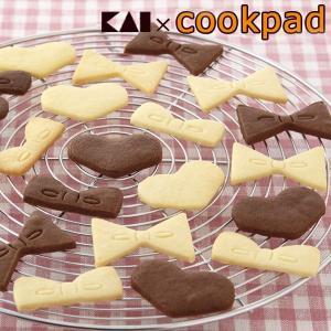 クッキー型 抜き型 ハート リボン セット ( クッキー 型 抜型 クッキー抜型 一度に抜ける )|livingut
