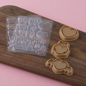 クッキー型 抜型 日本製 マシュマロ デコ セット ( マシュマロフォンダント クッキー クッキー抜型 お菓子作り キット )|livingut|05