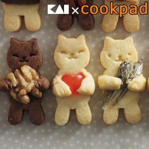 クッキー型 抜型 日本製 抱っこネコ スチロール樹脂