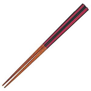 箸 俺の箸 紅炎 23cm ( 日本製 お箸 木製 )|livingut