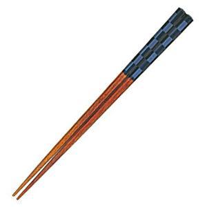 箸 俺の箸 黒王 23cm ( 日本製 お箸 木製 漆塗 )|livingut