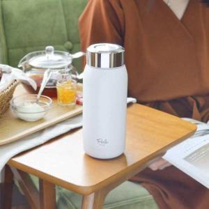水筒 直飲み ペルレティーボトル 355ml ステンレス製 テフロン加工 ( ステンレスボトル ティーボトル 耐熱 )|livingut|05