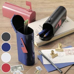 ペンケース US MAIL BOX ( 筆箱 ペン入れ ロック付 鉛筆 ボールペン入れ シンプル セトクラフト )|livingut