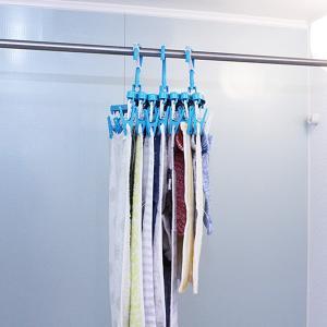 洗濯ハンガー 新設計 斜め干し らくらく伸縮ハンガー ピンチ28個付き 蛇腹式 ( ピンチからまない ピンチハンガー 洗濯用品 物干しハンガー ジャバラ )|livingut|04