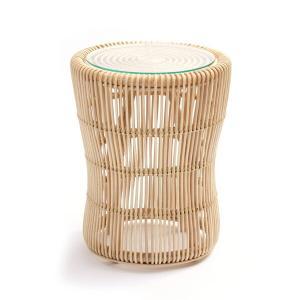 籐 ラタン サイドテーブル ( テーブル 籐家具 ラタンテーブル )|livingut