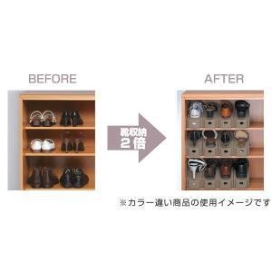特価 靴 収納 くつホルダー 5個入り ( 靴ホルダー シューズラック シューズボックス ) livingut 03