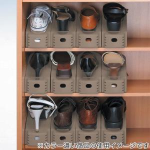 特価 靴 収納 くつホルダー 5個入り ( 靴ホルダー シューズラック シューズボックス ) livingut 04