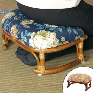 籐 ラタン 正座椅子 ( 籐正座椅子 椅子 イス )|livingut