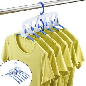 洗濯ハンガー ワンタッチハンガー 6連 ( ハンガー 物干しハンガー 物干し )|livingut